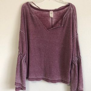 FREE PEOPLE BOHO TOP SIZE MEDIUM